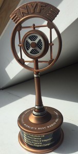 New York Festival's Best Radio Programme bronze award