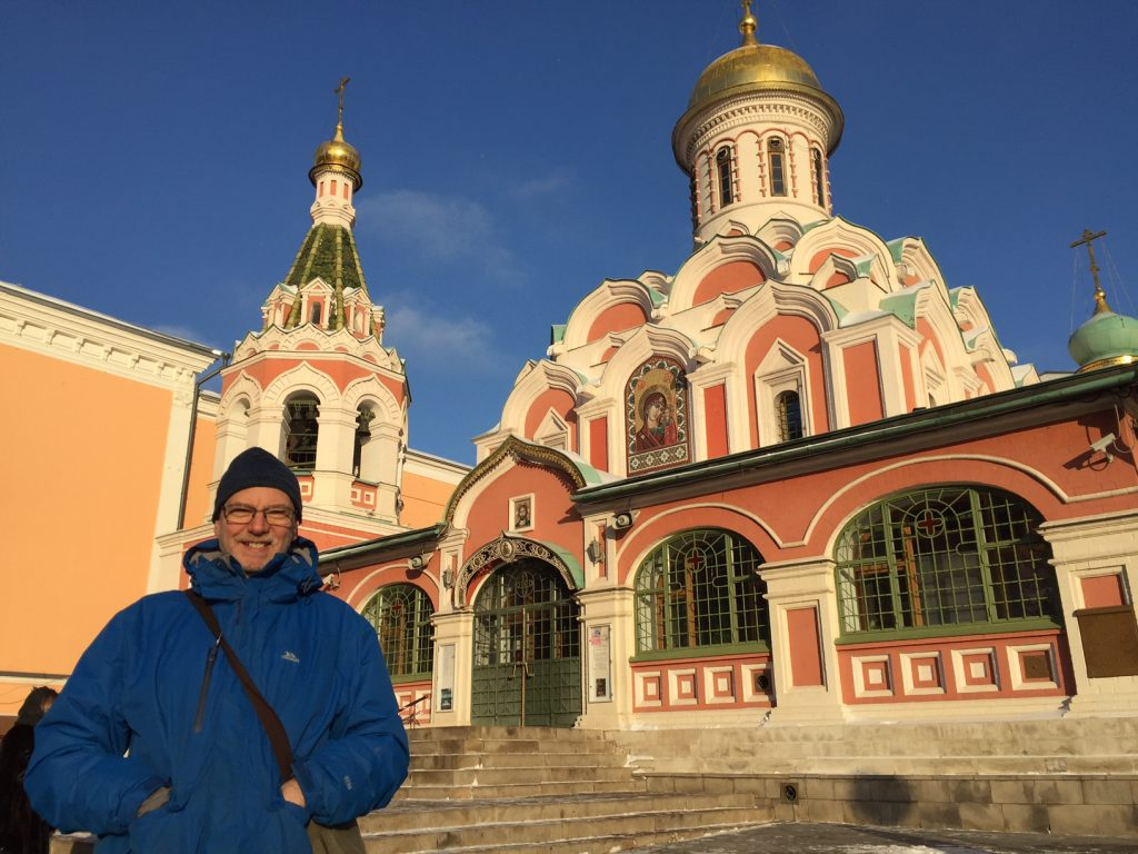 Adam Fowler in Moscow