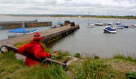 Conversations on a Bench – Beadnell