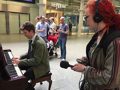 St Pancras Pianos