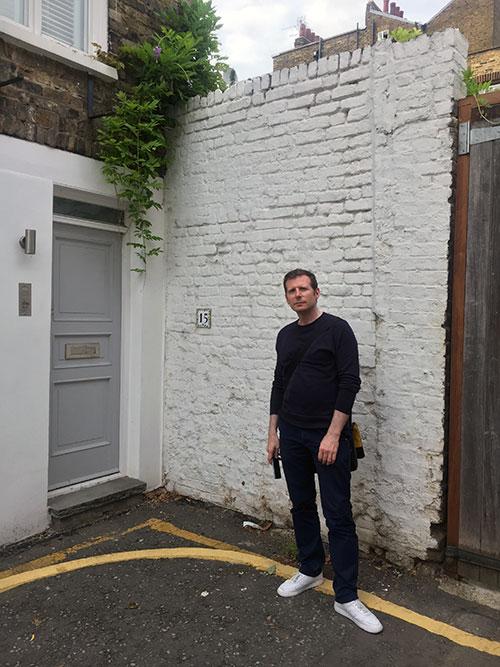 Danny Leigh on Woodfall Street